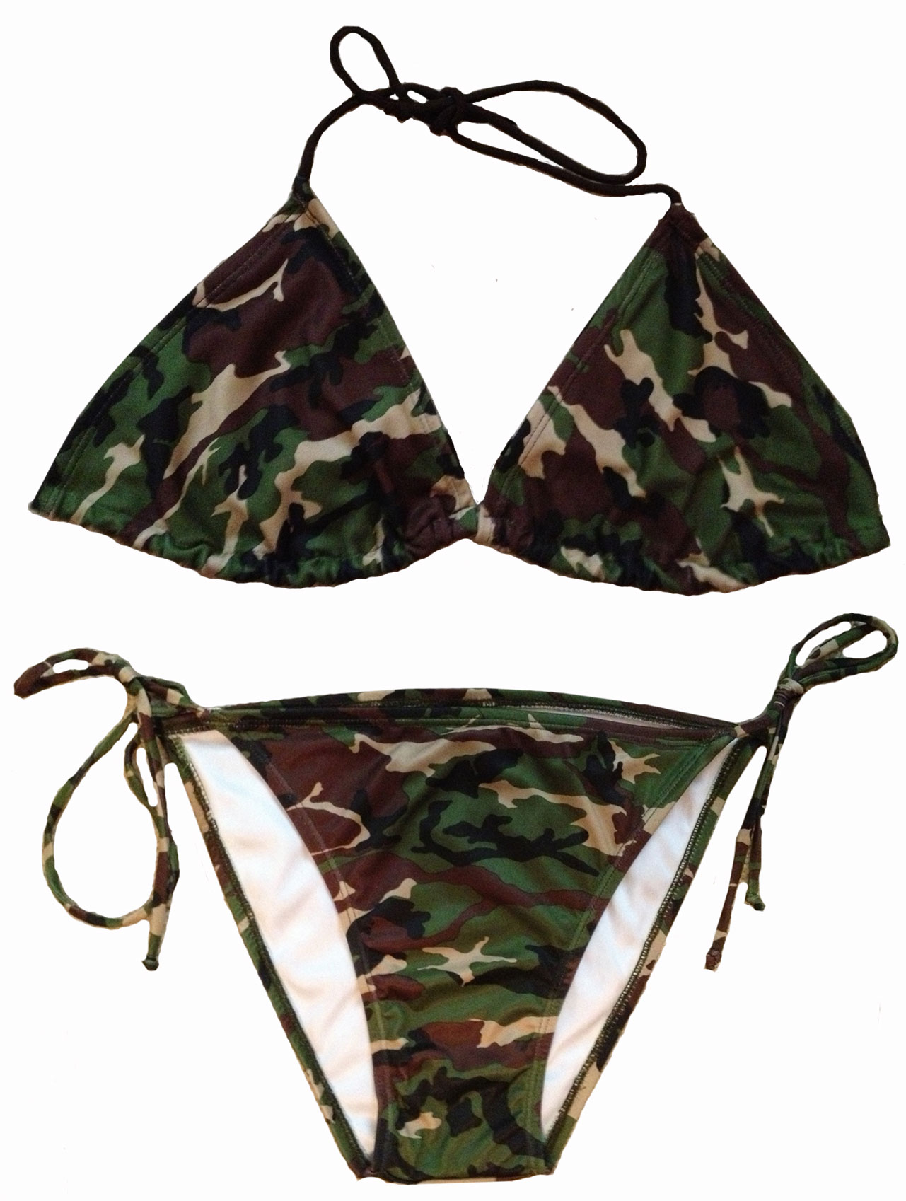 Army Camouflage Bikinis Southern Sisters Designs