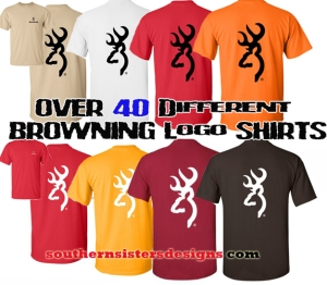 Browning T Shirts For Women and Men