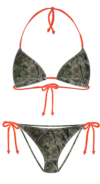 310cf621eb Purple String Camouflage Bikini – One Of A Kind – Instant Best ...