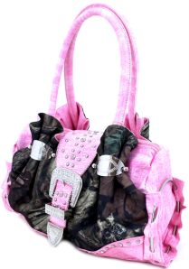 camo purses with pink