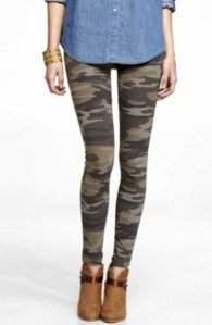army camouflage tights