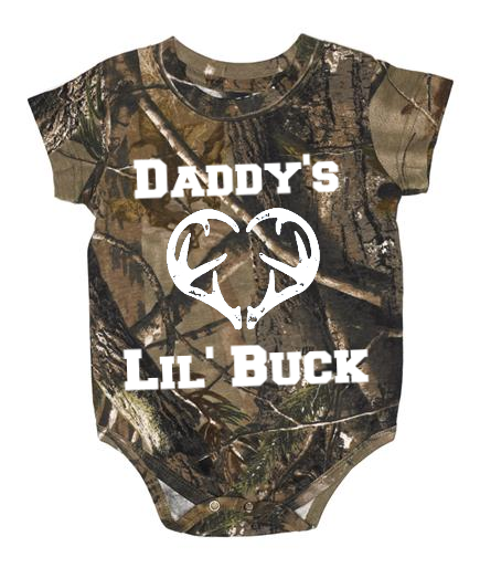 Camo And Country Baby Items Including Clothing Rompers