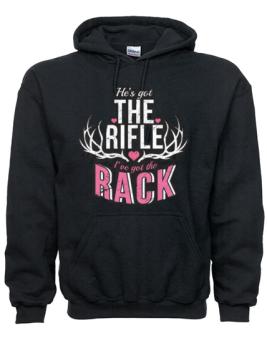 rifle hoodie